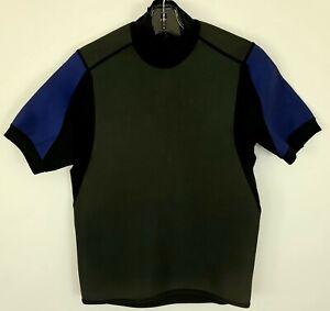 Patagonia Men's Wetsuit Shirt Short Sleeve Synthetic Rubber, Nylon, Spandex sz L