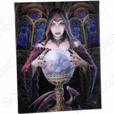 """Fantastic Small """"Crystal Ball"""" Canvas Art Picture Frame By Anne Stokes"""