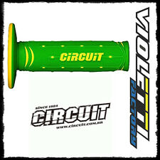 CIRCUIT COPPIA MANOPOLE MOTO CROSS ENDURO JUPITER verde | giallo
