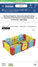 New listing 8 Panel Foldable Playpen Kids Safety Fence Baby Play Center Play Yard Nice Gift