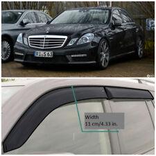 ME32509 Window Visors Vent Wide Deflectors For Mercedes E Sd W212 2009-2016