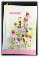 Marjolein Bastin Happy Birthday Appreciate Life's Blessings Pink Flowers Card