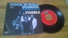 "7"" Rock Fumble - Rock'n'Roll School / On The Road To Fame (2 Song) DECCA"