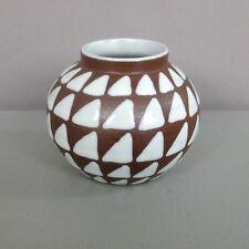 IOSKA DENMARK POTTERY__Modern Design Vase__Signed/Dated '78__ExC__SHIPS FREE