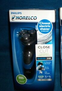 Philips Norelco Close-Cut Electric Shaver 2100 S1560-81 ~ Cord or Cordless NIB