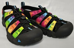 KEEN Outdoor 1018804 Men's Newport Retro-M Tie Dye Trail Hiking Sandals Shoes