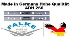 METABO 2 Hobelmesser 260 mm ADH 260 ( 263x24x1 mm ) CV 52 HRc