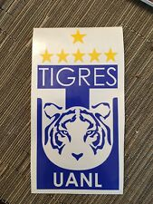 "TIGRES UANL DECAL / CAMPEON APERTURA 2017 9""x4.5"""