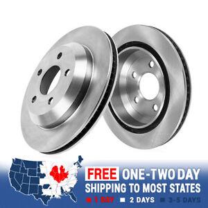 Rear 350 mm Quality Brake Disc Rotors For PORSCHE CAYENNE VW VOLKSWAGEN TOUAREG
