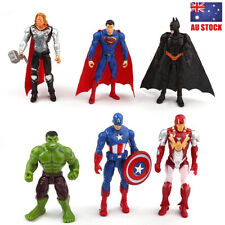 Marvel Avengers Infinity War Hulk Ironman 6 PCS Superhero Action Figure Kids Toy