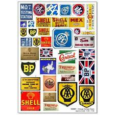 Vintage Garage Signs 1:24-1.30 (VGS01/24)