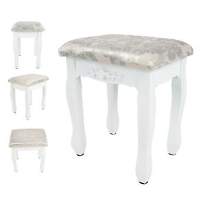 Vanity Dressing Table Stool Soft Wooden Makeup Chair Vanity Stool Piano Stool UK