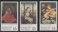 Australia Post - Design Set - MNH - Decimal - Christmas 1978 PLUS 3 x FDC