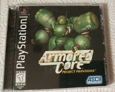 Armored Core: Project Phantasma Sony PlayStation 1 PS1, US, Complete, CLEAN