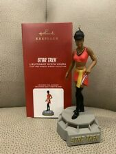 2020 Hallmark Lieutenant Nyota Uhura Star Trek Storyteller Ornament *Nib*