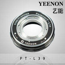 VOIGTLANDER Prominent to Leica screw mount L39 M39 Helicoid Adapter ( Black)