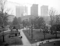 "1906 Court Square and Skyscrapers, Memphis, TN Old Photo 8.5"" x 11"" Reprint"
