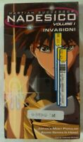 Martian Successor Nadesico (Vol 1) VHS 1996 Anime 1999 A.D.Vision [New & Sealed]