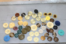 lot gros boutons anciens vintage