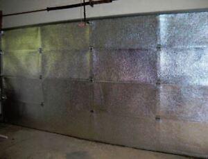 Lightweight Garage Door Insulation Quick to Install Stops Draughts Low-E 30m2