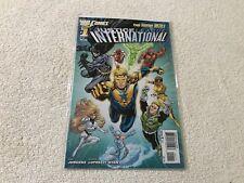JUSTICE LEAGUE INTERNATIONAL  1  NEW 52  DC comic book