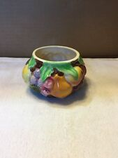 Vintage Tutti Fruity Small Round Vase