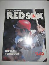 (11)  BOSTON RED SOCKS BASEBALL YEARBOOK MAGAZINES -  70'S- '80'S - BOX - BPR 1