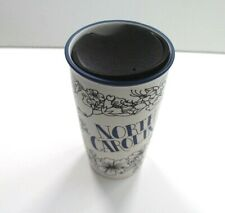 Starbucks NORTH CAROLINA Double Wall Traveler Ceramic Tumbler