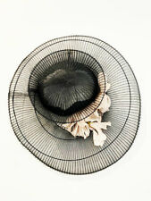 Designer Neil Grigg Millinery One Off Amazing Wide Brim Women's Hat
