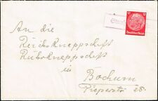 2526 POLAND GERMANY OCCUPATION COVER LINEAR CANCEL STORCHNEST (OSIECZNA)