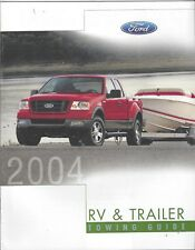 Original/Official 2004 Ford RV & Trailer Towing Guide Brochure 04 News