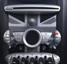 Mittelkonsole Blende für Mini Cooper R55 R56 R57 Union Jack Black / bis 2011