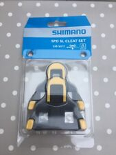 Shimano SM-SH11 SPD SL Cleats Centre Pivot Floating Yellow