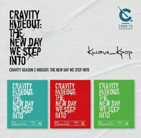 CRAVITY [HIDEOUT:THE NEW DAY WE STEP INTO] SEASON 2 ALBUM   POSTER - KPOP SEALED
