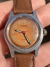 Vintage Alprosa By Enicar Mens Watch Hand-winding 30,8mm Swiss Made Nice Patina