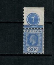 Ceylon SG 350, Mint NH (H selvage), 1922 GV