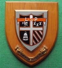 """"""" Ut sementem feceris, ita metes crest """" Academic School Crest Shield Plaque"""