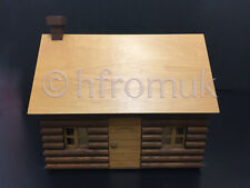Sylvanian Families Super Rare VINTAGE Memory Time Log Cabin from 1986 Handmade