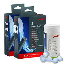 2x 3 Jura Claris Smart SET Filterpatronen + 1x 25 JURA Reinigungstabletten