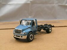 dcp/greenlight blue International cab&chassis truck new no box 1/64.