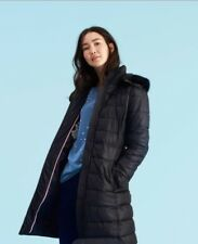 Joules Women's Snowdon LongLineHooded Coat- Size 10 New With Tag