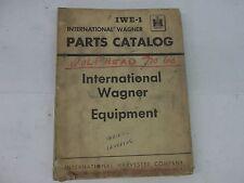 International Harvester Wagner Equipment Parts Catalog Ford John Deere Ferguson