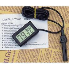 Thermometer Hygrometer Probe for Fertile Egg Hatching Chicks Incubator NN