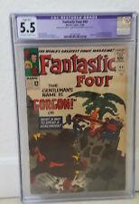 Fantastic Four #44 CGC 5.5 restored; 1st Gorgon