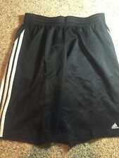 Adidas Men's  Gym Workout Athletic Shorts Black Size XL Kd1