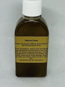 100% Authentic CHEBE Fenugreek Caffeine MSM Potent HairGrowth Serum CLEARANCE!!!