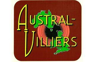 Austral-Villiers Vintage Mower Repro Catcher Decal