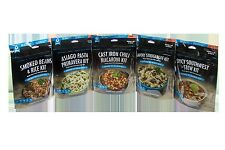 BANNOCK FREEZE DRIED CAMPING MEALS - 5 DINNERS - CAMP, BACKPACKING, HIKING FOOD