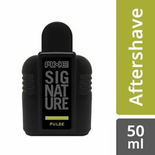 AXE Signature Pulse After Shave Lotion, 50 ml Keeps Safe on Skin & fresh, Clean