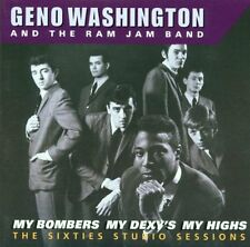 GENO WASHINGTON - My Bombers My Dexys My Highs [60's STUDIO][2xCD 1998] 60's/Mod